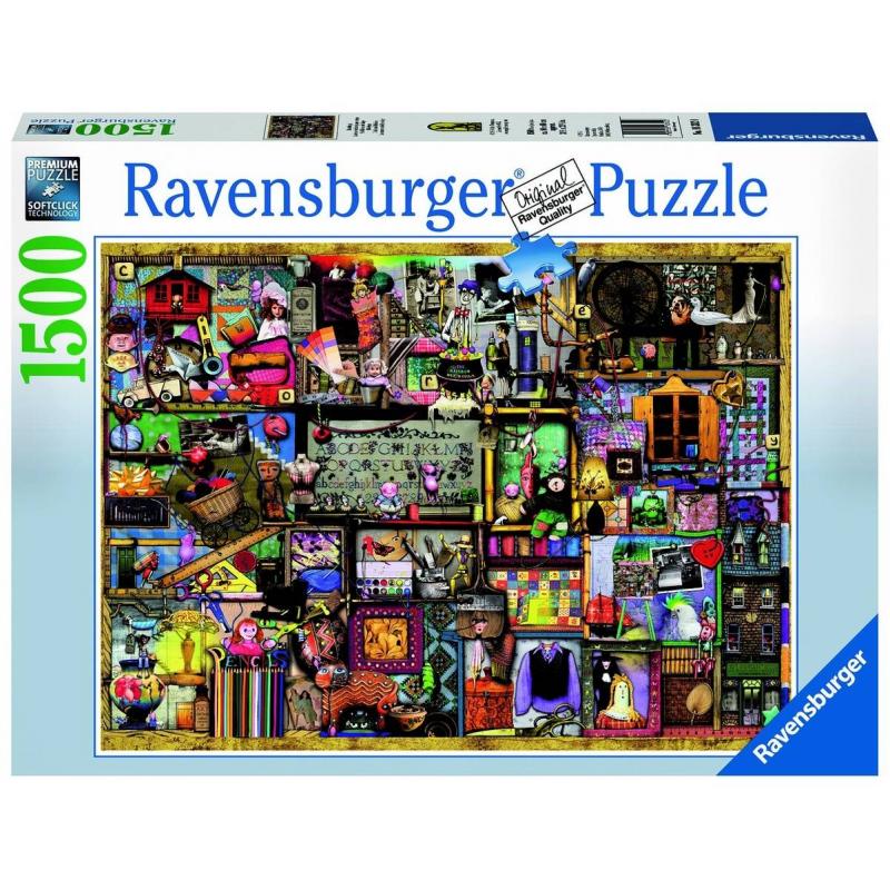 RAVENSBURGER Пазл Искусство и хобби 1500 деталей ravensburger пазл тихая бухта 1500 деталей