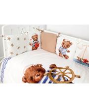 Комплект белья в кроватку Морячок Топотушки