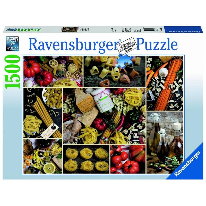RAVENSBURGER Пазл Паста 1500 деталей ravensburger пазл тихая бухта 1500 деталей