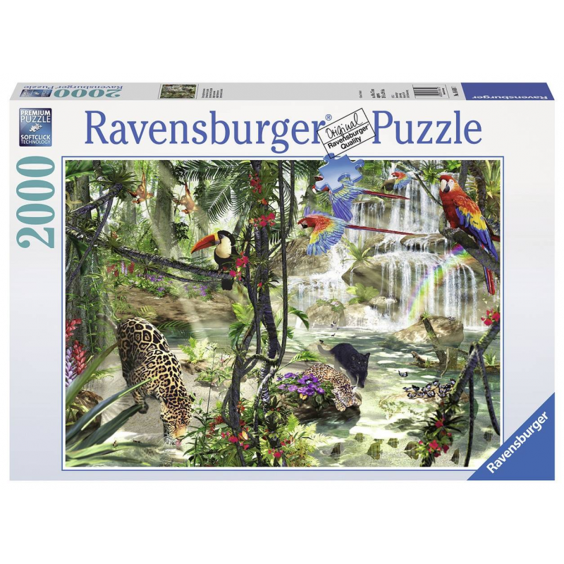 RAVENSBURGER Пазл Джунгли 2000 деталей ravensburger пазл прима балерина 500 деталей