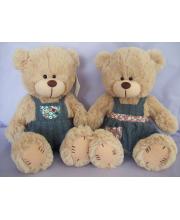 Медведь в комбинезоне и сарафане 20 см SONATA style