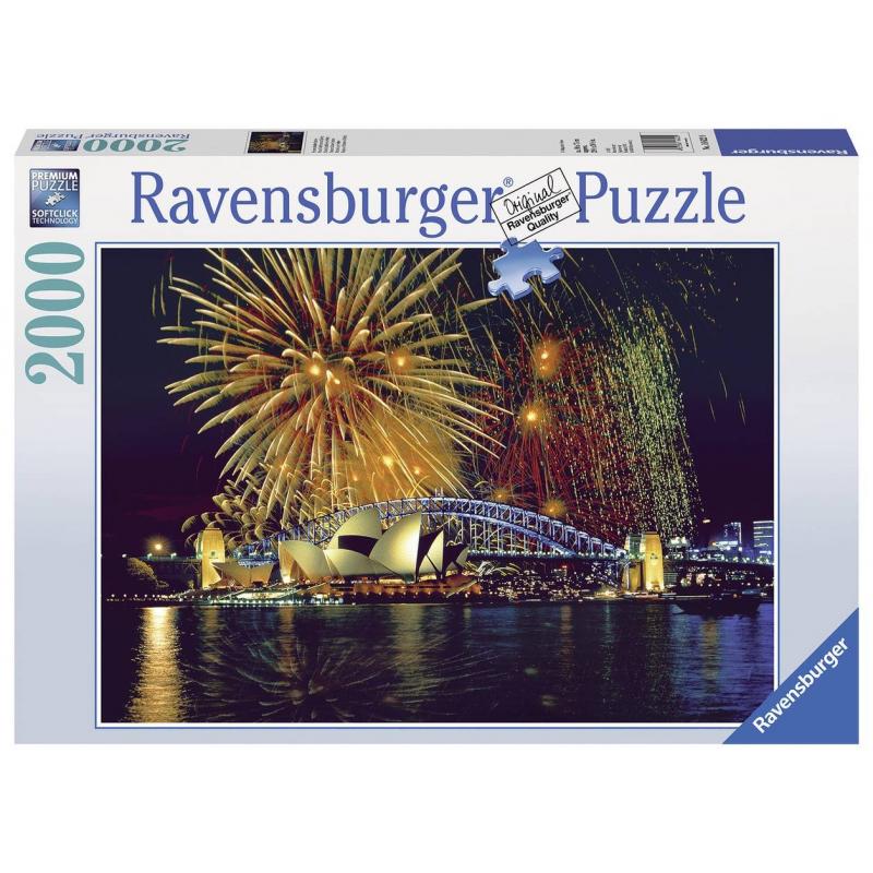 RAVENSBURGER Пазл Фейерверк над Сиднеем 2000 деталей