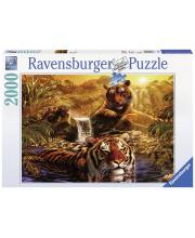 Пазл Тигры у водопада 2000 деталей RAVENSBURGER