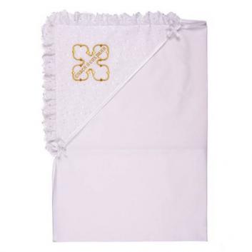 Полотенце-накидка крестильное