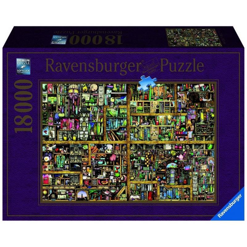 RAVENSBURGER Пазл Волшебный книжный шкаф XXL 18000 деталей wonderwood книжный шкаф