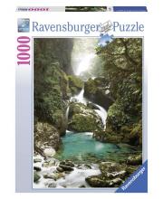 Пазл Водопад Маккей Новая Зеландия 1000 деталей RAVENSBURGER