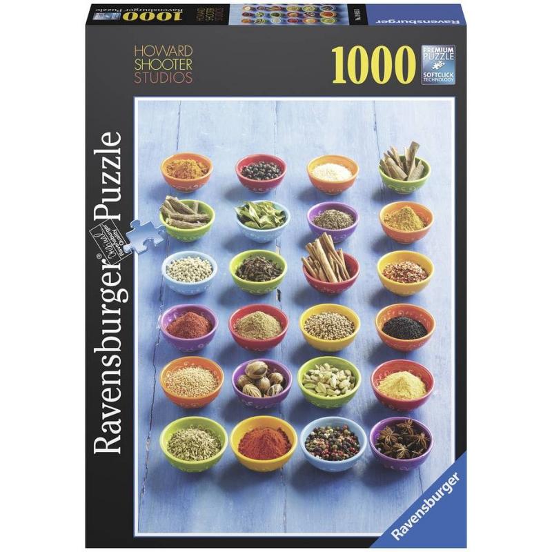 RAVENSBURGER Пазл Специи 1000 деталей пазл 200 элементов ravensburger мой первый питомец 12810