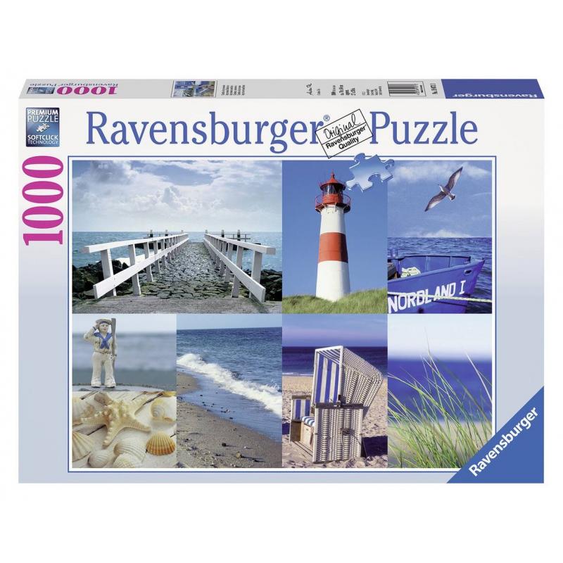 RAVENSBURGER Пазл Морской пейзаж 1000 деталей пазл 73 5 x 48 8 1000 элементов printio осенний пейзаж константин коровин