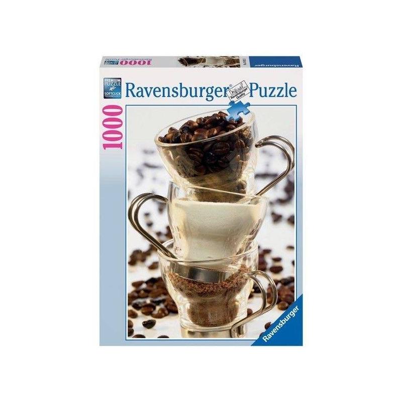 RAVENSBURGER Пазл Кофе 1000 деталей ravensburger пазл в утреннем блеске 1000 деталей