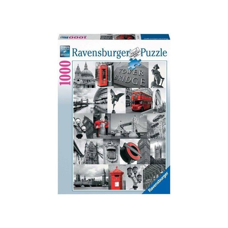 RAVENSBURGER Пазл Лондон в картинках 1000 деталей 1000 дет лондон
