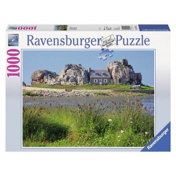 Игрушки, Пазл Дом в Британии 1000 деталей RAVENSBURGER 653962, фото
