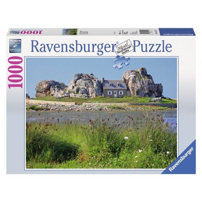 RAVENSBURGER Пазл Дом в Британии 1000 деталей пазлы ravensburger пазл дом бальо в барселоне 1000 шт