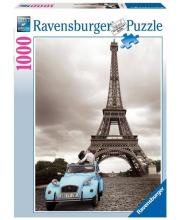 Пазл Романтика в Париже 1000 деталей RAVENSBURGER
