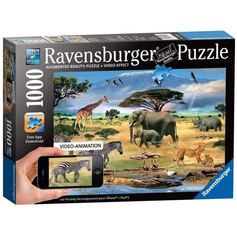 Пазл Ravensburger Животные Африки 17037