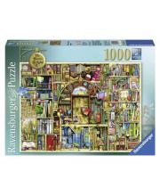 Пазл Необыкновенный книжный магазин 2 1000 деталей RAVENSBURGER