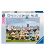 Пазл Викторианские дома Сан-Франциско 1000 деталей RAVENSBURGER