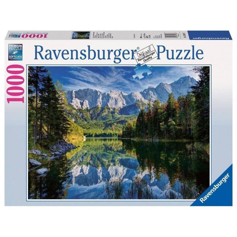RAVENSBURGER Пазл Озеро Эйб 1000 деталей гермомешок внутренний nova tour лайтпак 100 95154 407 00 100л цвет синий
