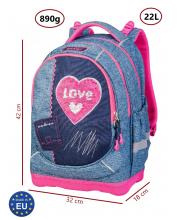 Рюкзак суперлегкий Denim Love Target