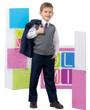 Брюки школьные для мальчика OLMI