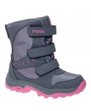 Ботинки зимние для девочки MURSU