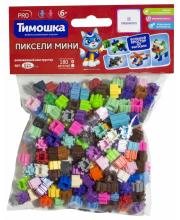 Конструктор Пиксели мини 180 деталей Тимошка