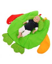 Развивающий игровой коврик Сова с подушкой I-BABY