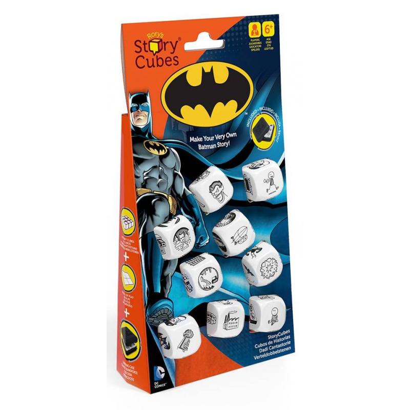 Rorys Story Cubes Игра Бэтмен настольные игры rorys story cubes кубики историй дополнительный набор космос