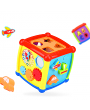 Игрушка развивающая Куб-сортер Fancy HAUNGER