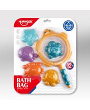 Набор игрушек для ванной 6 шт Морской HAUNGER