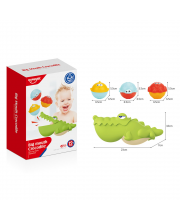 Набор игрушек для ванной Крокодил HAUNGER