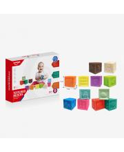 Набор кубиков 12 шт Развивайка HAUNGER