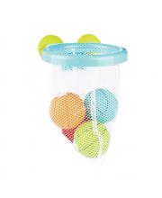 Игрушка для ванной Корзина с мячиками PITUSO