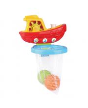 Набор игрушек для ванной Кораблик с мячиками PITUSO