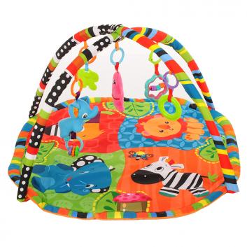 Игрушки, Развивающий коврик Зоопарк PITUSO 395922, фото