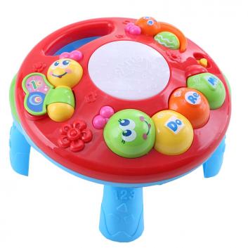Игрушки, Развивающий столик 2в1 Гусеница TOT KIDS 395928, фото