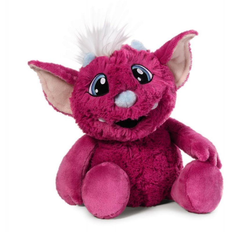 Интерактивная игрушка Крейзи МикМягкая интерактивная игрушка Крейзи Мик малиновогоцвета марки Nici.<br>Мягкая игрушка повторяет фразы, а также может запоминать длинные предложения и воспроизводить их в любое время. Если пощекотать игрушку, она начнет хохотать и ее рот будет двигаться. А если закрыть ей глазки на некоторое время и сжать левую лапку, то игрушка захрапит и перейдет в энергосберегающий режим.<br>Размер: 35 см.<br><br>Цвет: Малиновый<br>Возраст от: 3 года<br>Пол: Для девочки<br>Артикул: 654068<br>Бренд: Германия<br>Страна производитель: Китай<br>Размер: от 3 лет