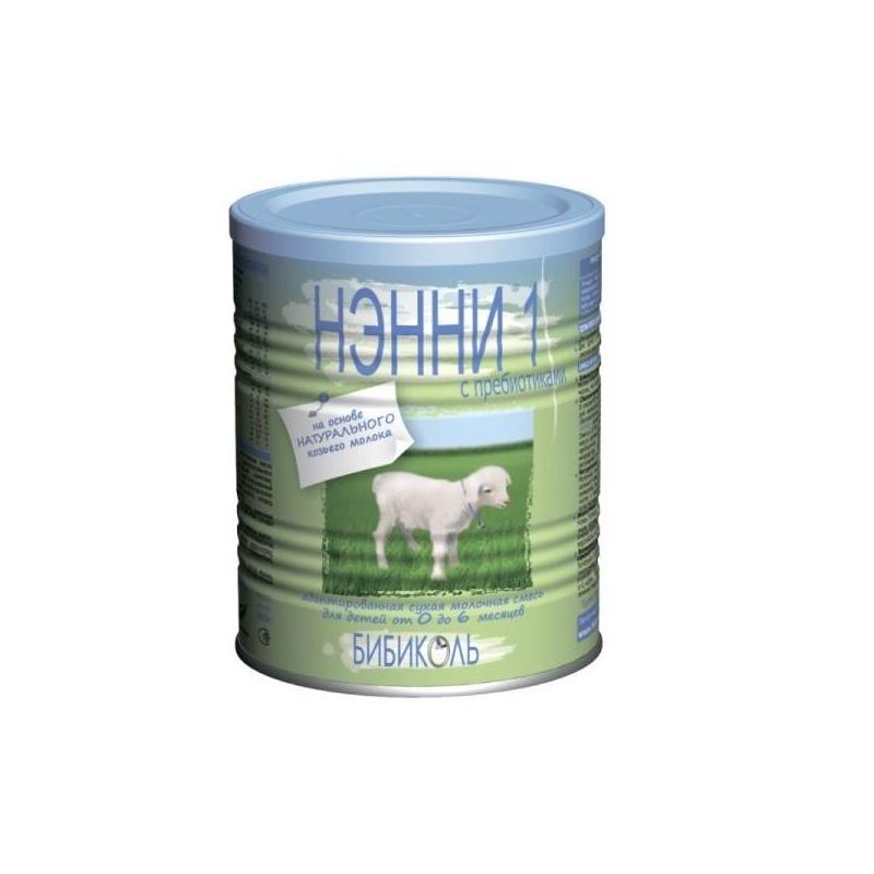 Молочная смесь 1 с пребиотиками с 0 мес. 400 г (Нэнни)