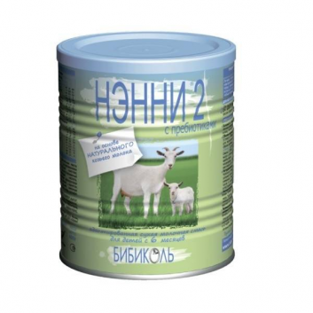 Молочная смесь 2 с пребиотиками с 6 мес. 400 г