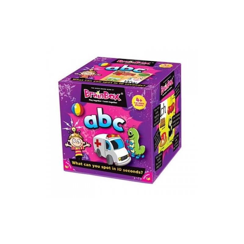 BrainBox Игра Сундучок знаний АВС настольная игра brainbox развивающая сундучок знаний мир математики 90718