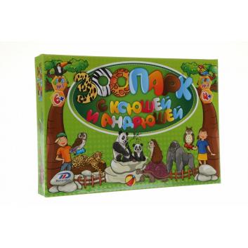 Игрушки по акции, Настольная игра Зоопарк ИнтерХит 658289, фото