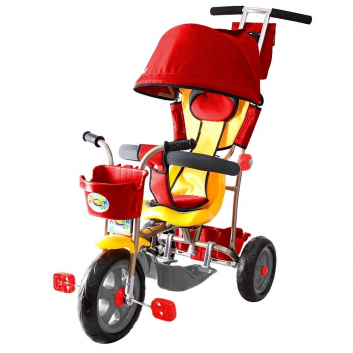 Спорт и отдых, Велосипед трехколесный Galaxy Лучик RT (красный)650559, фото