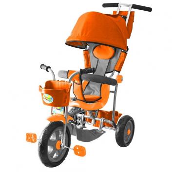 Спорт и отдых, Велосипед трехколесный Galaxy Лучик RT (оранжевый)650560, фото