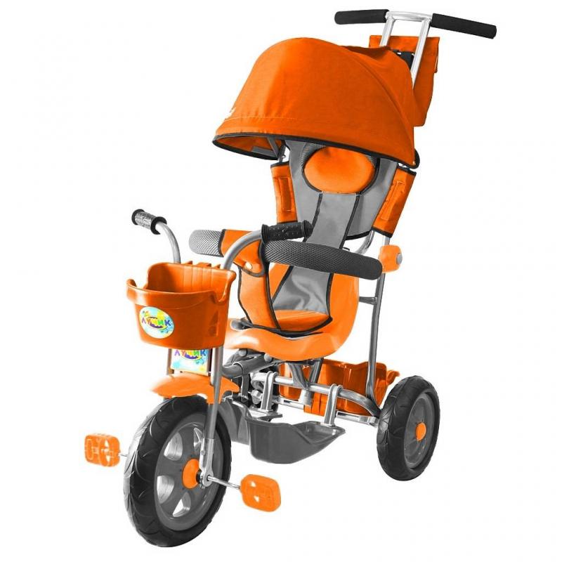 RT Велосипед трехколесный Galaxy Лучик велосипед rt galaxy лучик vivat 10 8 оранжевый трехколёсный