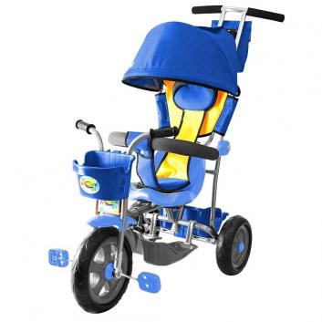 Спорт и отдых, Велосипед трехколесный Galaxy Лучик RT (синий)650561, фото
