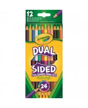 12 двухсторонних карандашей