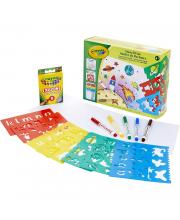 Набор для детского творчества Трафареты