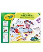 Детский набор для творчества со стикерами