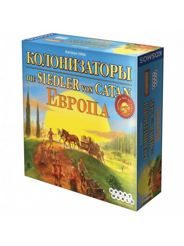 Настольная игра Колонизаторы Европа Hobby World