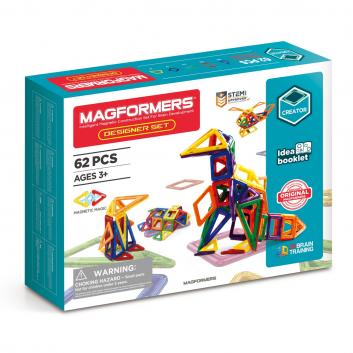 Игрушки, Магнитный конструктор Designer set MAGFORMERS 629258, фото