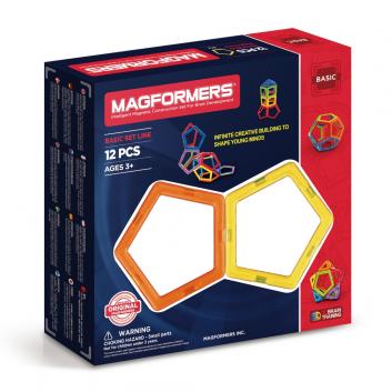 Игрушки, Магнитный конструктор 12 деталей MAGFORMERS 608147, фото